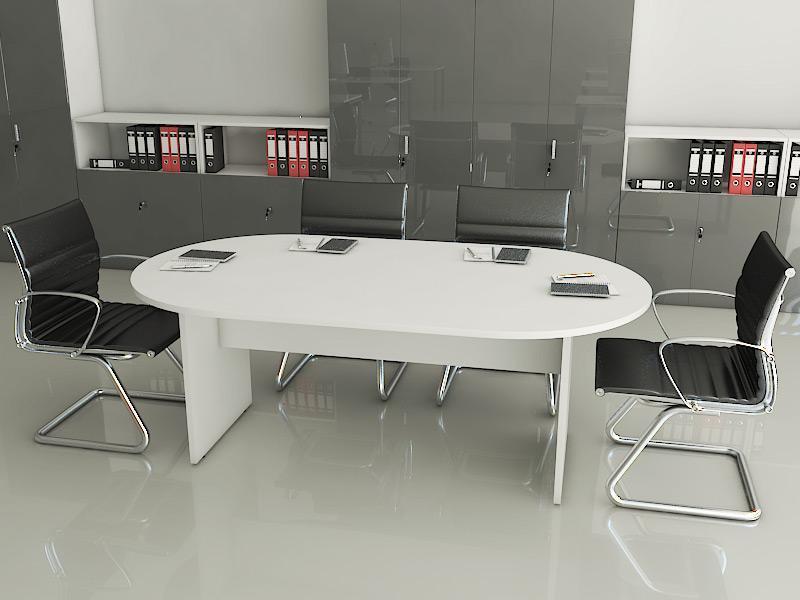 TABLE DE REUNION OVALE